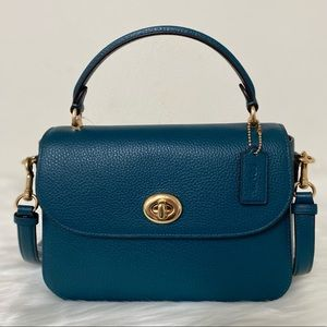 New💃Coach Marlie Top Handle Satchel Purse